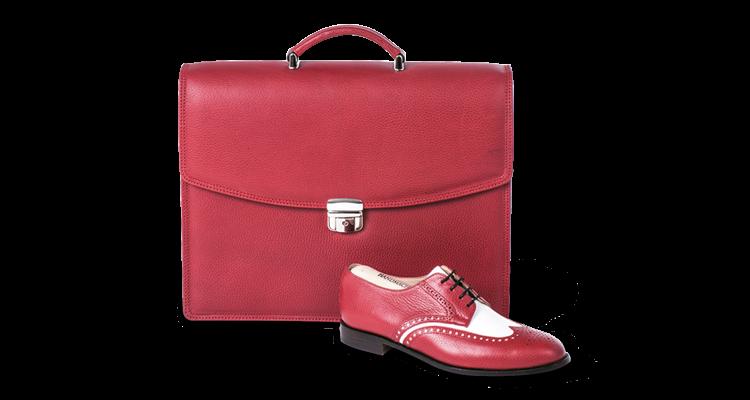 Aktentasche Kalbleder erhältlich bei Reichl Schuhe