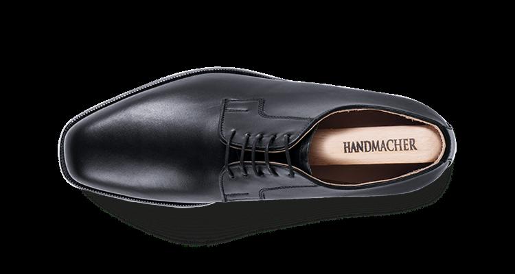 Modell 80 Ganzschnitt Kalbleder schwarz