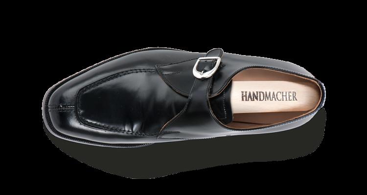Modell 83 Monk Norweger Kalbleder schwarz